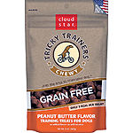 CLOUDSTAR DOG TRICKY TRAINER GRAIN FREE CHEWY PEANUT BUTTER 5OZ