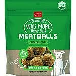 CLOUDSTAR WAGMORE DOG MEATBALL GRAIN FREE BEEF 14OZ