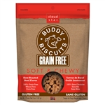 Cloud Star Grain-Free Soft & Chewy Buddy Biscuits with Rotisserie Chicken Dog Treats, 5-oz. bag