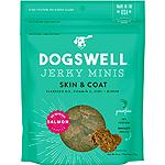 Dogswell Jerky Skin & Coat Mini Grain-Free Salmon 4Oz