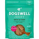 Dogswell Jerky Skin & Coat Grain-Free Salmon 10Oz
