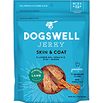 DOGSWELL DOG SKIN & COAT JERKY GRAIN FREE LAMB 10OZ