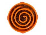 Outward Hound Fun Feeder Slo-Dog Bowl Orange 1ea/Large