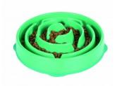 Outward Hound Fun Feeder Slo-Dog Bowl Turquoise 1ea/Large
