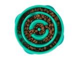 Outward Hound Fun Feeder Slo-Dog Bowl Turquoise 1ea/Mini