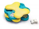 Nina Ottosson Tornado Interactive Dog Toy Blue, Yellow 1ea/Large, 11 in