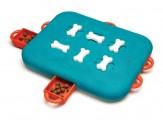 Nina Ottosson Casino Interactive Dog Toy Blue 1ea/Large