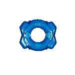 Hero Dog Ring Treat Dispensing Blue 5 Inches
