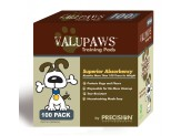 Precision Pet Products ValuPaws Training Pads White 1ea/100 pk, 22 In X 22 in