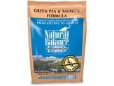 Natural Balance L.I.D. Green Pea & Salmon Formula Dry Cat Food 5lb