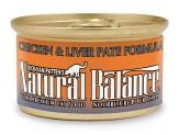 Natural Balance Chicken & Liver Pat Formula Canned Cat Food 3oz