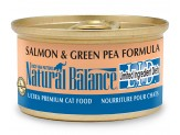 Natural Balance L.I.D. Salmon & Green Pea Formula Canned Cat Food 3Oz