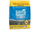 Natural Balance L.I.D. Green Pea & Duck Formula Dry Cat Food 10Lb