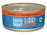 Natural Balance Lid Indoor Cat Salmon & Chickpea Formula 5.5Oz /24Pk