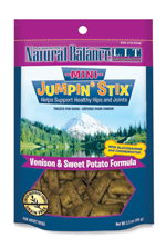 Natural Balance Pet Foods L.I.T Hip-Stix Venison Formula Semi-Moist Dog Treats 1ea/3.5 oz, Mini