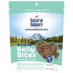Natural Balance Belly Bites Chicken & Legume Treat 6oz