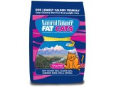 Natural Balance Fat Cats Chicken & Salmon Formula Low Calorie Dry Cat Food 15Lbs