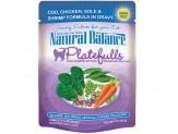 Natural Balance Platefulls Cod Chicken Sole & Shrimp Formula in Gravy Cat Food