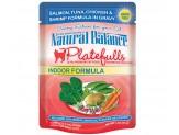 Natural Balance Platefulls Indoor Salmon Tuna Chicken & Shrimp in Gravy Cat Food