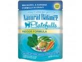 Natural Balance Platefulls Indoor Mackerel & Sardine Formula in Gravy Cat Food