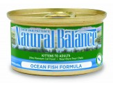 Natural Balance Ocean Fish Formula Canned Cat Food 24/5.5Oz