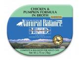 Natural Balance LID Chicken & Pumpkin Formula in Broth Cat Food 24ea/.75oz
