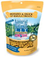 Natural Balance L.I.T. Limited Ingredient Treats Duck & Potato 8oz