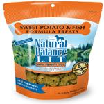 Natural Balance L.I.T. Limited Ingredient Treats Sweet Potato & Fish 14oz