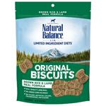 Natural Balance L.I.T. Limited Ingredient Treats Brown Rice & Lamb Meal 14oz
