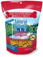 Natural Balance L.I.T. Limited Ingredient Treats Sweet Potato & Bison 8oz