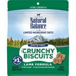 Natural Balance LID Grain Free Crunchy Biscuits Lamb 10oz