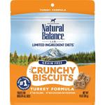 Natural Balance LID Grain Free Crunchy Biscuits Turkey 10oz