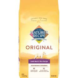 Nature's Recipe Adult Lamb Meal & Rice 1ea/4.5 lb