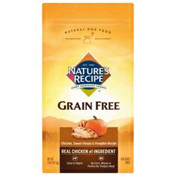 Nature's Recipe Grain Free Chicken Recipe 1ea/4 lb