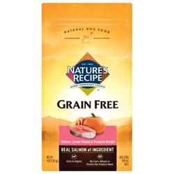 Nature's Recipe Grain Free Salmon Recipe Cat Food 1ea/4 lb