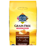 Natures Recipe Small Breed Grain-Free Easy to Digest Dry Dog Food Chicken 4lb