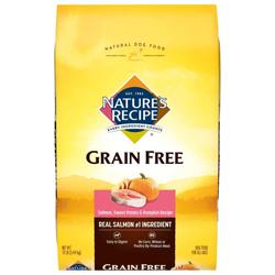 Nature's Recipe Grain Free Easy to Digest Salmon Sweet Potato & Pumpkin 1ea/12 lb