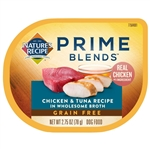 Natures Recipe Prime Blends Wet Dog Food Chicken and Tuna 2.75oz