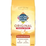 Natures Recipe Small Bites Dry Dog Food Chicken and Rice 4.5lb