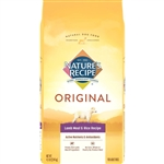 Natures Recipe Adult Dry Dog Food Lamb Meal and Rice 4.5lb