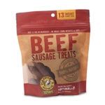 "Happy Howie Dog Beef Sausage Bakers Dozen 4"" 8OZ"