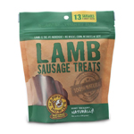 "Happy Howie Dog Lamb Sausage Bakers Dozen 4"" 8OZ"