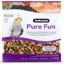 ZuPreem Pure Fun Bird Food for Medium Birds 1ea/2 lb