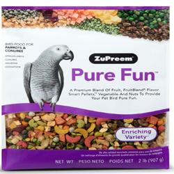 ZuPreem Pure Fun Bird Food for Parrots & Conures 1ea/2 lb
