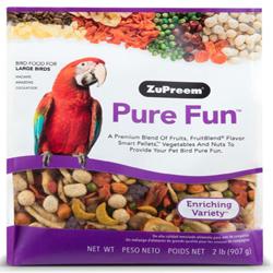 ZuPreem Pure Fun Bird Food for Large Birds 1ea/2 lb