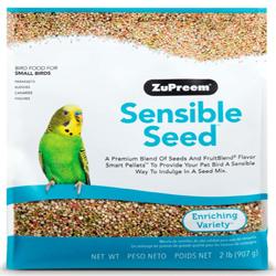 ZuPreem Sensible Seed Bird Food for Small Birds 1ea/2 lb