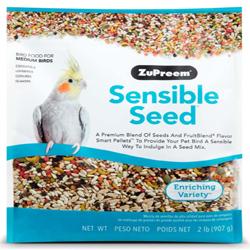 ZuPreem Sensible Seed Bird Food for Medium Birds 1ea/2 lb