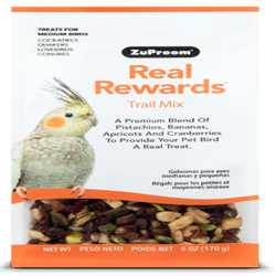 ZuPreem Real Rewards Trail Mix Treats for Medium Birds 1ea/6 oz