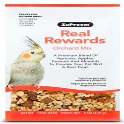 ZuPreem Real Rewards Orchard Mix Treats for Medium Birds 1ea/6 oz