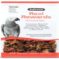 ZuPreem Real Rewards Orchard Mix Treats for Large Birds 1ea/6 oz
